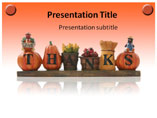 Thanking You Template PowerPoint
