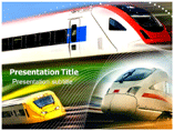Bullet train Templates For Powerpoint