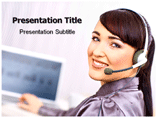 Female employment Templates For Powerpoint