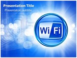 Wi fi technology Templates For Powerpoint