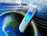 Telecom Communication powerpoint template