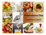 Healthy Diet PowerPoint Slide