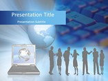 Global Communication PowerPoint Backgrounds