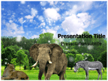 Plant and animals Templates For Powerpoint