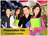 American Students Templates For Powerpoint