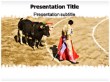 Spain Bullfight Templates For Powerpoint