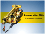 Cranes Business Templates For Powerpoint