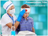 head injury Templates For Powerpoint