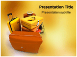 Luggages Templates For Powerpoint