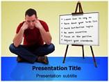 Stress Management Techniques Templates For Powerpoint