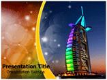 Burj al arab Templates For Powerpoint