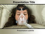 Sleeping Apnea Pics Templates For Powerpoint