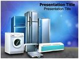 Home appliances Powerpoint Templates