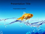 Water Fish PowerPoint Slides