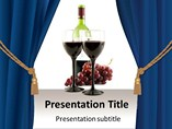 Red Wine Templates For Powerpoint