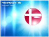 denmark logo Templates For Powerpoint