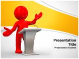 Speaking Manner Powerpoint Templates