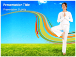 Meditation Tapes Templates For Powerpoint