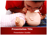 Artificial respiration Templates For Powerpoint