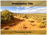 Desert Vegetation Templates For Powerpoint