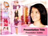 Online shopping mall Templates For Powerpoint