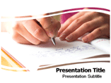 Writing book Templates For Powerpoint