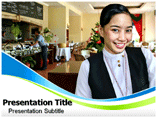 Hospitality industry Templates For Powerpoint