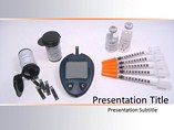 Diabetes Equipment PowerPoint Backgrounds