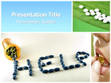Medicine help Templates For Powerpoint