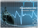 Heart palpitation Templates For Powerpoint