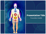 Body chakras Templates For Powerpoint