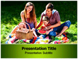 Family Picnic Images Templates For Powerpoint