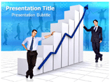 Business Growth Chart Templates For Powerpoint