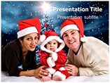 Christmas Family Background Templates Templates For Powerpoint