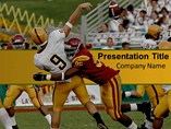 Football Games Pics Templates For Powerpoint