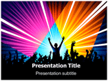 Musical Energy Templates For Powerpoint