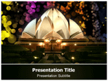 Lotus Temple Templates For Powerpoint