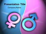 Male and Female Chromosomes Templates For Powerpoint