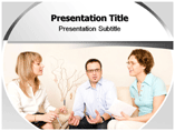 Counseling in Office PowerPoint Designs