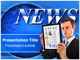 Daily news Templates For Powerpoint