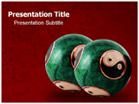 Chinese Therapy Balls Benefits Templates For Powerpoint