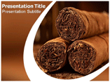 Cigar Smoke Templates For Powerpoint
