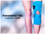 Knee brace Templates For Powerpoint