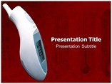Interactive Thermometer   PowerPoint Template