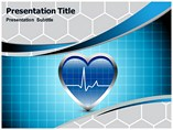 ECG Heart Beat Templates For Powerpoint