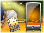 Mobile SIM Templates For Powerpoint