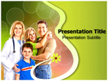Healthy Family Templates For Powerpoint