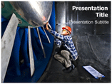 Wind Tunnel Engenier Templates For Powerpoint