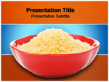 Golden Rice Templates For Powerpoint
