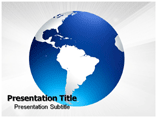 South America Population Templates For Powerpoint